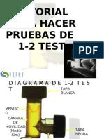 TUTORIAL PARA PRUEBAS 1-2TEST