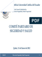 2012 002 03 SSO Comite Paritario Seguridad Salud Ocupacional PUCE