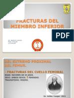 Tema 10.Fracturas Del Miembro Inferior