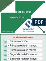 Actualización de La ISO 9001 Sistema de Gestión de Calidad - Version 2015