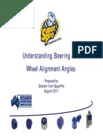 Wheelalign Angles