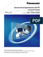 Manual de Programacion PC KX-TDA100D