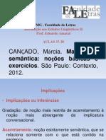 Aulas 37-38 - CANÇADO 2012 - Implicacoes