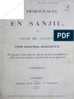 Afanador, Democracia en San Gil (1844)