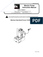 BVA PED Series Manual