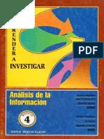 4. Analisis de La Información Aprender a Investigar Icfes