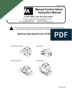 BVA PR & PW Series Manual