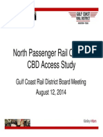 Gulf Coast Rail District Northwest Passenger Rail Route Study
