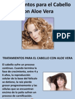 Tratamientos Para El Cabello Con Aloe Vera