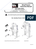 BVA Presses Manual