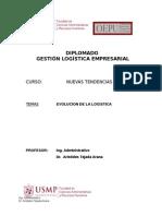 Evolucion de La Logistica - Aristides Tejada Arana