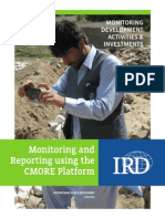 Monitoring and Reporting Using the CMORE Platform