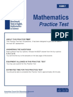 practice-test-math-grade-7 pdf | Multiple Choice | Educational