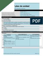 formato plantilla plan unidad
