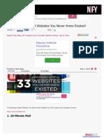 33 Amazingly Useful Websites
