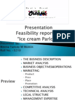 Ice Cream Parlour Feasibility Ppt