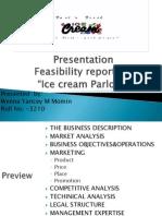 Ice Cream Parlour Feasibility Ppt