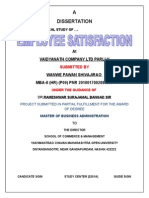 212221598 Mba Hr Project a Study on an Employee Satisfaction in VAIDYANATH COMPANY LTD PARLI V