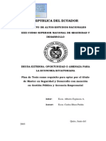 Cartas de Intencion Del Fmi
