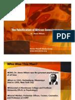 The Falsification of Black Consciousness