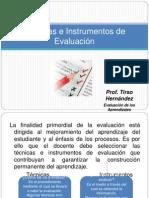 tecnicaseinstrumentosdeevaluacion-120823130506-phpapp01