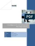 Manual de Configuracion Del Interaction Recorder Client
