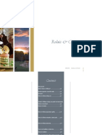 Relais Chateaux Terms and Conditions 2013