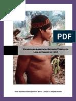 02. Vocabulario Amahuaca. Recursos Vegetales.