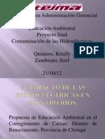 Ppt Proyecto Final Educacion Ambiental