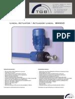 Lineal Actuators TGBgroup