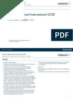 Edexcel IGCSE January 2015 Timetable Final