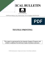 ISP 1004 Textile Printing