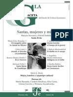 La Gaceta - Diciembre 2002 - Santas, Mujeres y Mitos