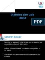 Diabetes Dan Usia Lanjut