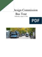 Madison Urban Design Commission Bus Tour 081314