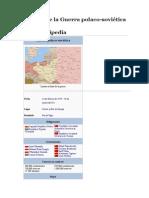 Historia de La Guerra Polaco Sovietica