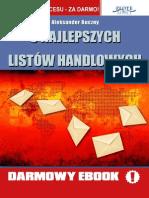 5 Najlepszych Listów Handlowych - Buczny Aleksander Full