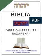 Biblia Israelita Nazarena