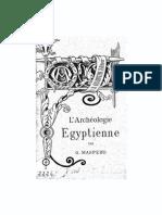 L'Archéologie Égyptienne Par G. Maspero 1887