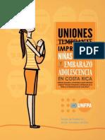 Uniones Impropias UNFPA-Paniamor 2014