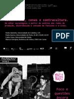 QUINTELA, Pedro; GUERRA, Paula; FEIXA, Carles; FARRAJOTA, Marcos (2014) - Resistência, cenas e contracultura. Um olhar sociológico a partir da análise das redes de produção, distribuição e consumo de fanzines e e-zines