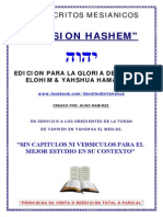 MANUSCRITOS MESIANICOS VERSION HASHEM