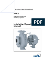 Installation Operating Manual