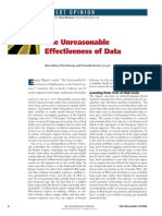 The Unreasonable Effectiveness of Data