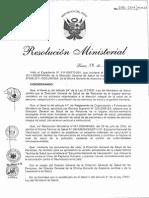 Inmuniza RM070-2011 Esquem Vac Papiloma