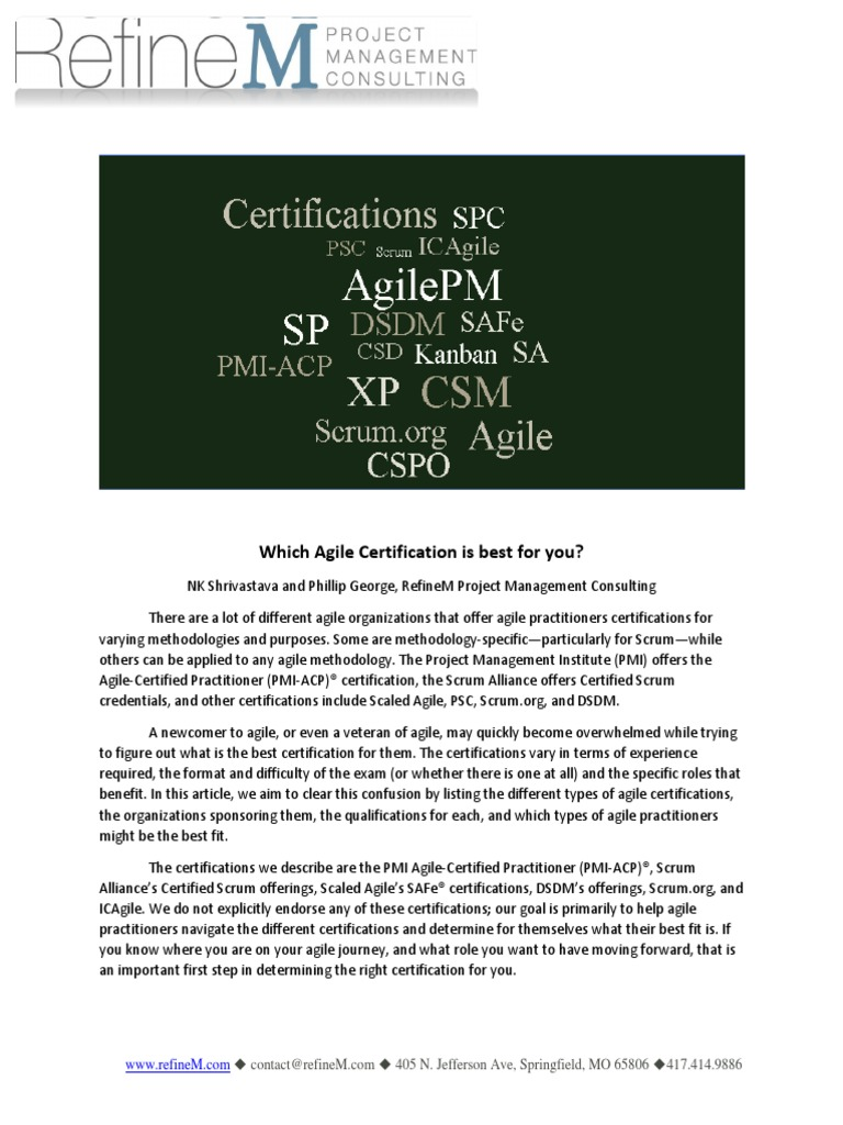 Which agile certification is best for you agile software which agile certification is best for you agile software development professional certification 1betcityfo Choice Image