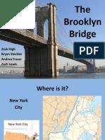 Brooklyn Bridge Presentation