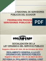 1. Presentacion Losep y Reglamento 25 Julio 2011 - i Parte