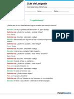 GP2 Comprension La Gallinita Roja