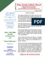 hfc august 17 2014 bulletin